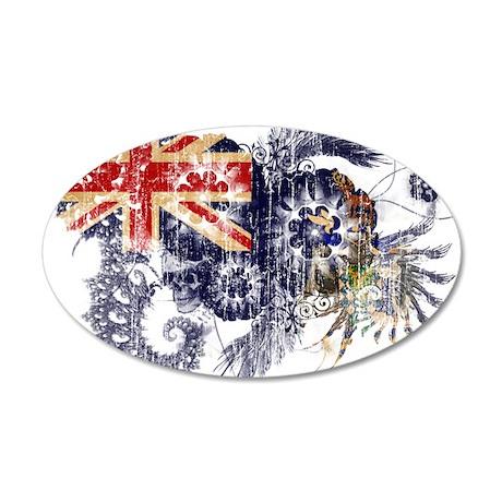 """South Georgia and South Sandwich Islands Flag"" 22"