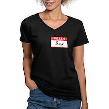 Bud, Name Tag Sticker Shirt