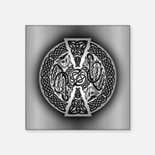 "Celtic Dragons Square Sticker 3"" x 3"""