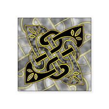 "Celtic Dark Sigil Square Sticker 3"" x 3"""