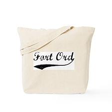 Fort Ord - Vintage Tote Bag