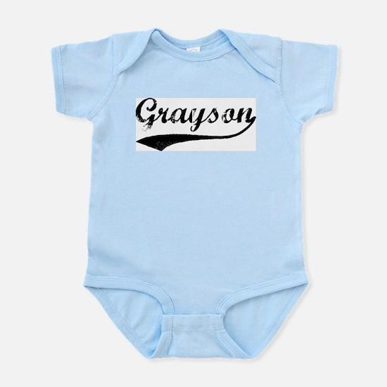Grayson - Vintage Infant Creeper