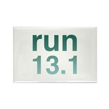 run13green_sticker.png Rectangle Magnet (10 pack)