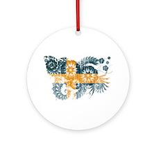 Sweden Flag Ornament (Round)