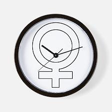 Female.png Wall Clock