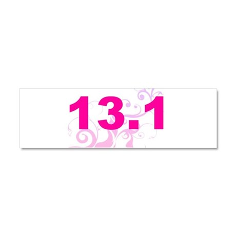 run13.1_black_sticker.psd Car Magnet 10 x 3