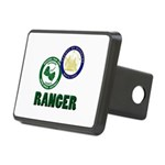 Riverside County Ranger Rectangular Hitch Cover