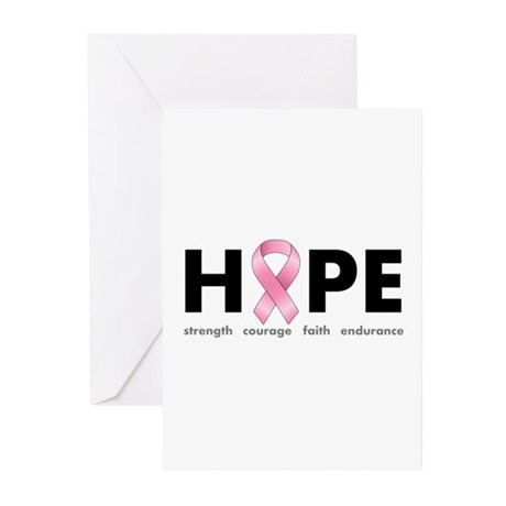 Breast Cancer Hope Greeting Cards (Pk of 20)