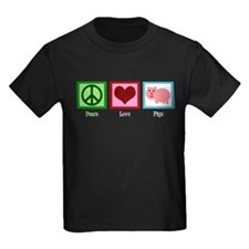 Peace Love Pigs T