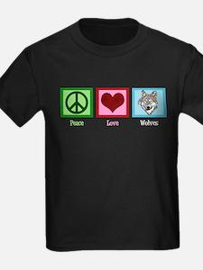 Peace Love Wolves T
