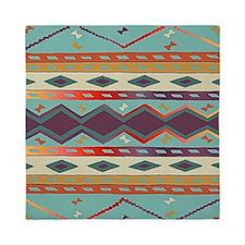 Southwest Indian Blanket Design Queen Duvet