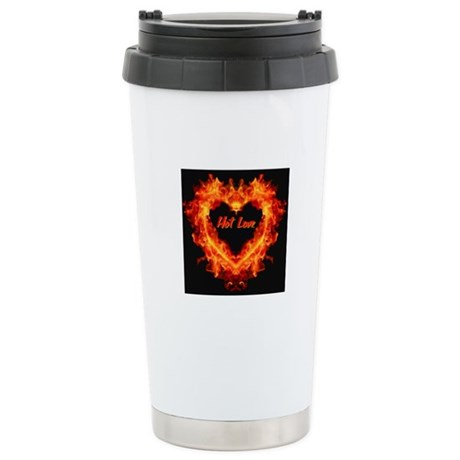 Hot Love! Stainless Steel Travel Mug