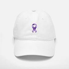 Purple Ribbon Hat
