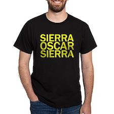 SOS-Yellow T-Shirt