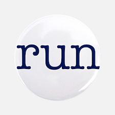 """run_blue_sticker2.png 3.5"""" Button (100 pack)"""
