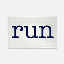 run_blue_sticker2.png Rectangle Magnet