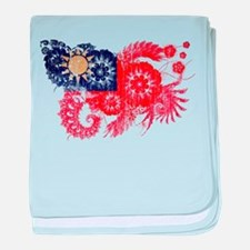 Taiwan textured flower aged copy.png baby blanket