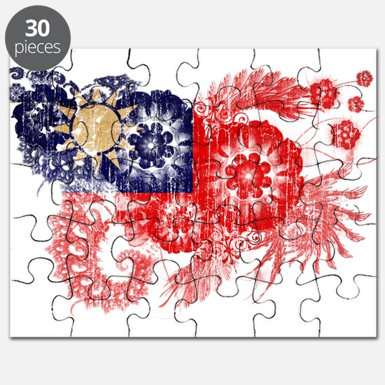 Taiwan textured flower aged copy.png Puzzle
