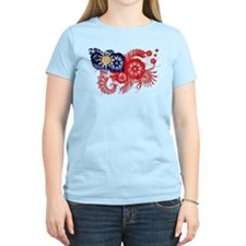 Taiwan textured flower aged copy.png T-Shirt