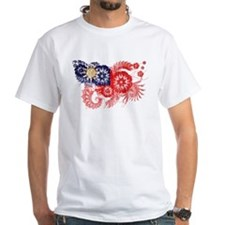 Taiwan textured flower aged copy.png Shirt