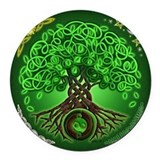 Celtic Round Car Magnets