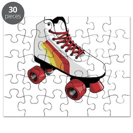 Retro Roller Skate Puzzle