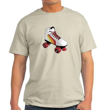 Retro Roller Skate Light T-Shirt