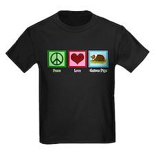 Peace Love Guinea Pigs T