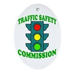 Traffic Commission Oval Ornament