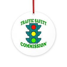 Traffic Commission Ornament (Round)