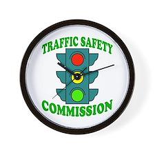 Traffic Commission Wall Clock