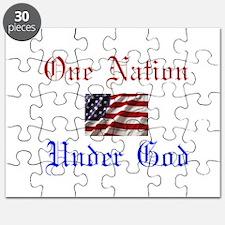 One Nation Under God Puzzle