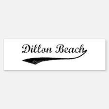 Dillon Beach - Vintage Bumper Bumper Bumper Sticker