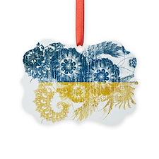 Ukraine Flag Ornament