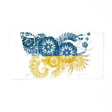 Ukraine Flag Aluminum License Plate