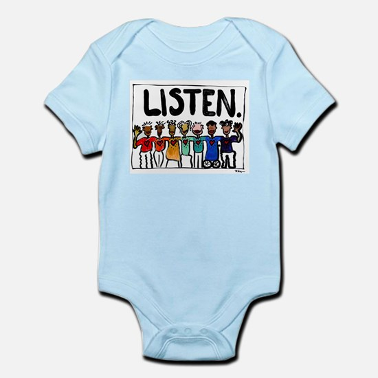 Listen Infant Bodysuit