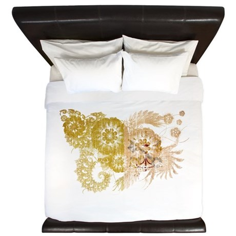 Vatican City Flag King Duvet