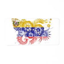 Venezuela Flag Aluminum License Plate