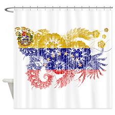Venezuela Flag Shower Curtain