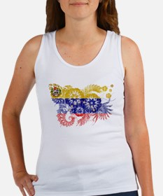 Venezuela Flag Women's Tank Top