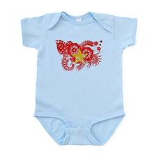 Vietnam Flag Infant Bodysuit