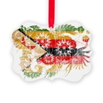 Zimbabwe Flag Picture Ornament