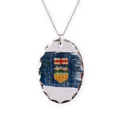 Alberta Flag Necklace