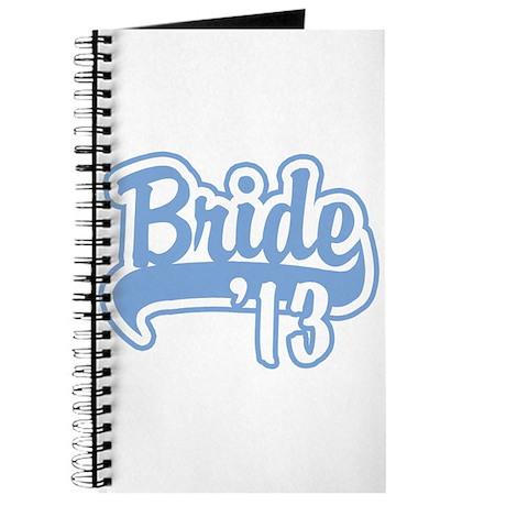 Baseball Blue Bride 2013 Journal