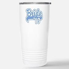 Baseball Blue Bride 2013 Travel Mug