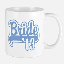 Baseball Blue Bride 2013 Mug