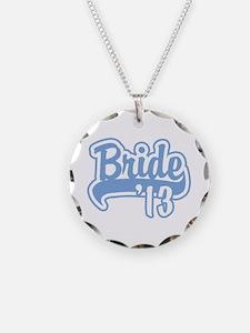 Baseball Blue Bride 2013 Necklace