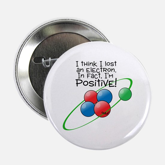 "I'm Positive 2.25"" Button"
