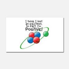 I'm Positive Car Magnet 20 x 12