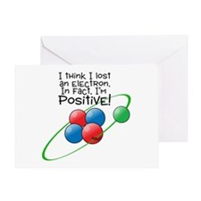 I'm Positive Greeting Card